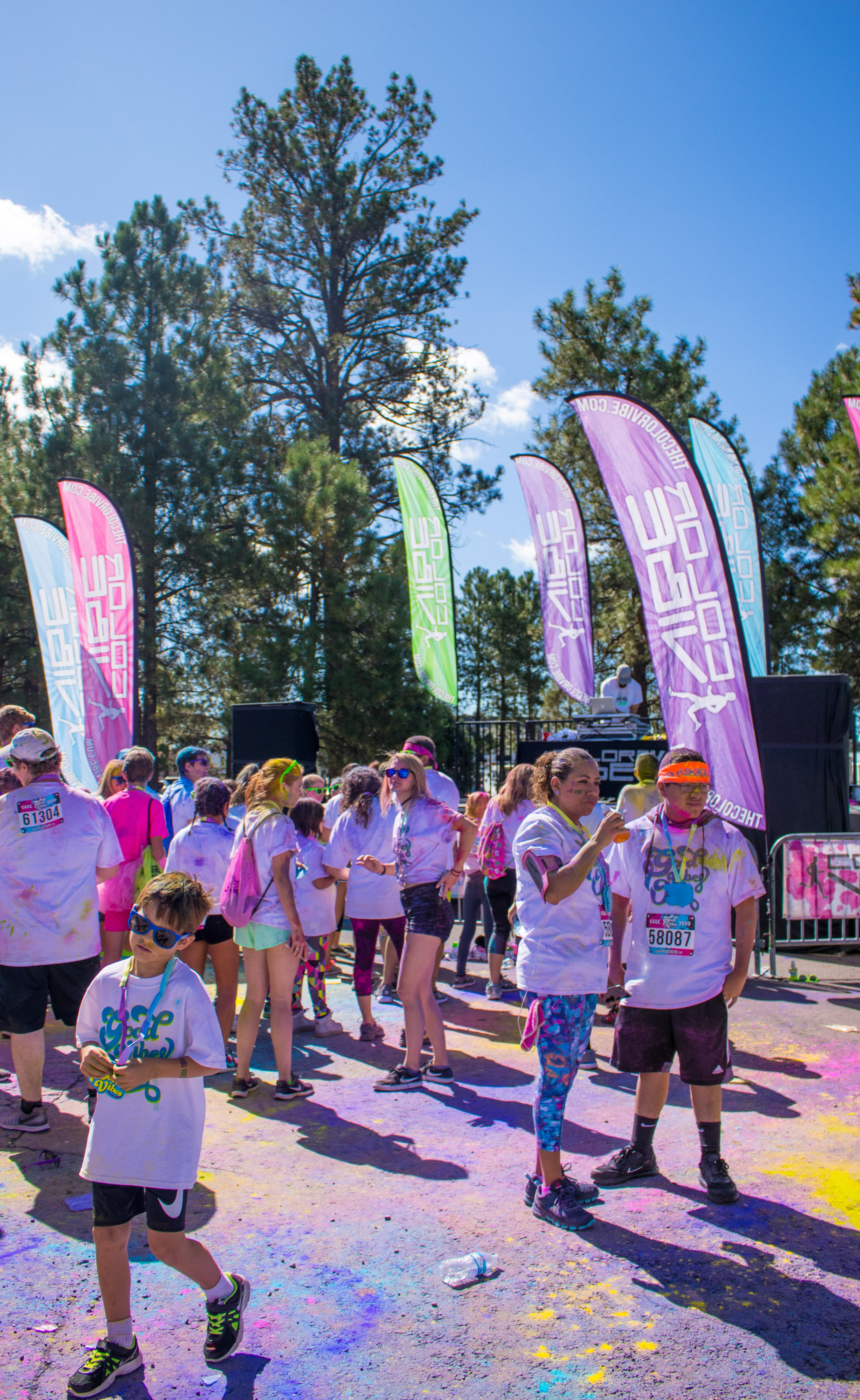 Free stock photo of 5k, colour, event, outdoor
