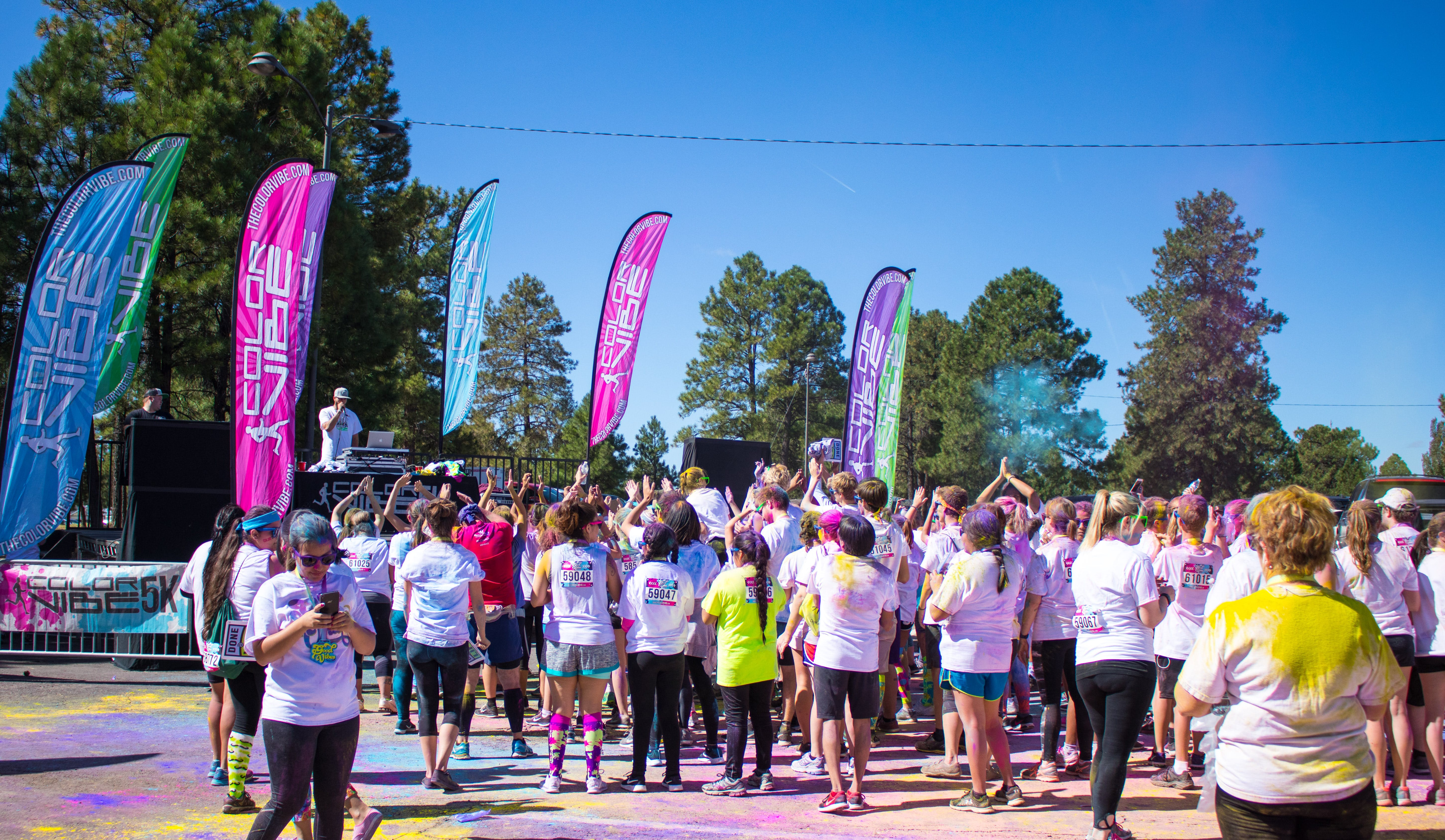 Free stock photo of 5k, colour, event, outdoors