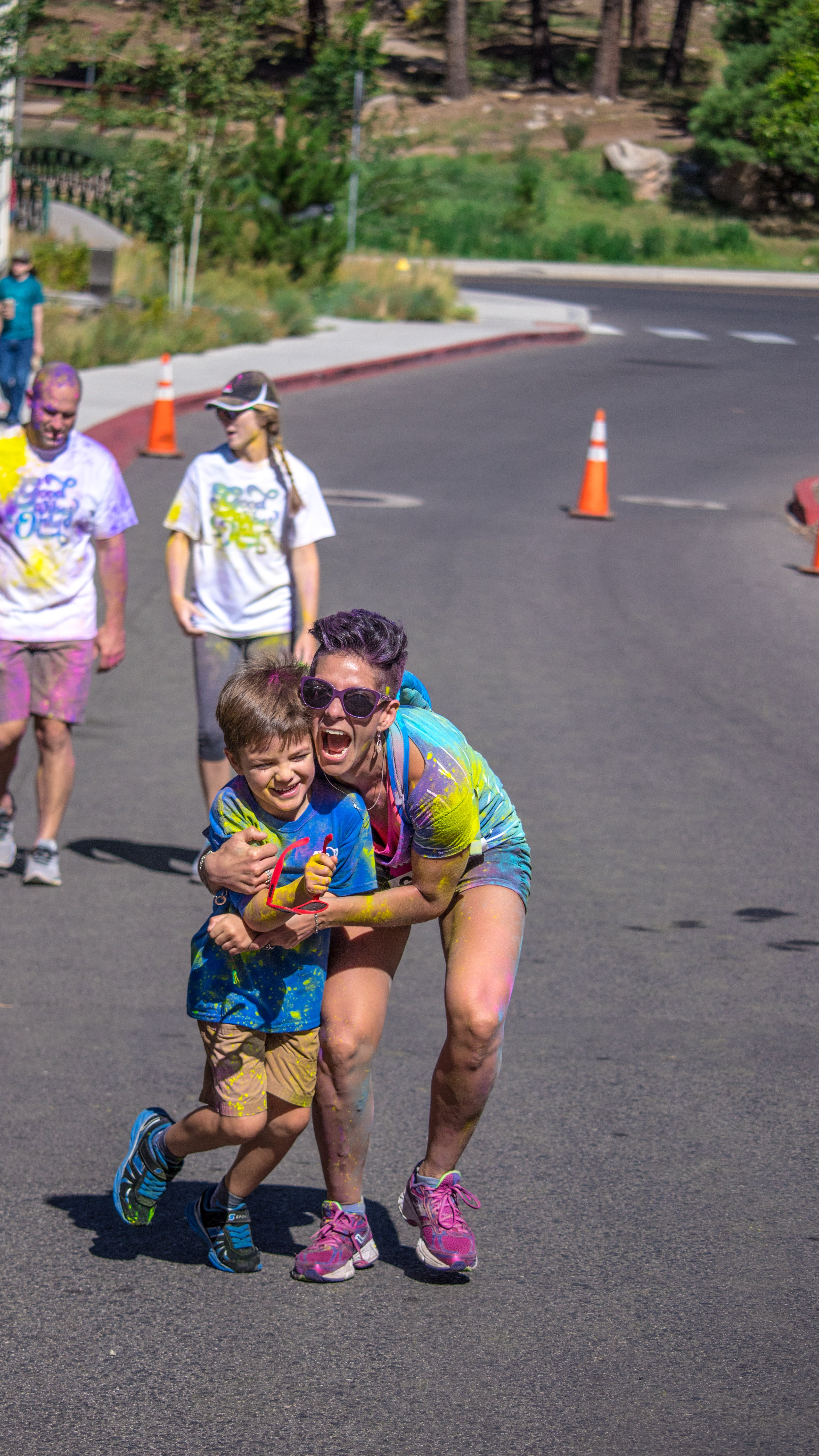 Free stock photo of 5k, colour, event, family
