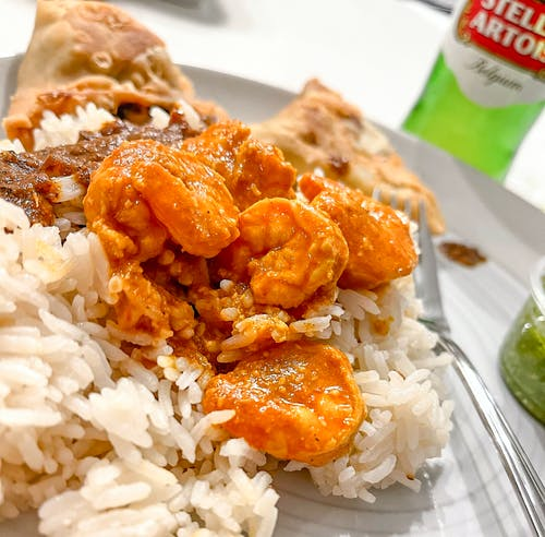 Free stock photo of home cooked meals, indian food, shrimp