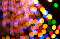 art, lights, night
