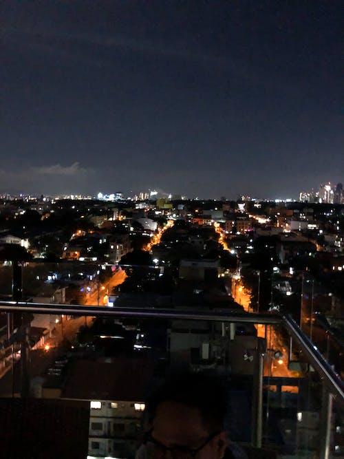 Free stock photo of city at night, citylights, night travel