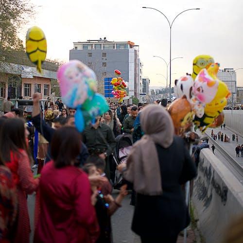 Free stock photo of balloons, celebration, colors