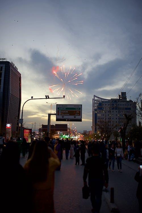 Free stock photo of celebrating, city, fireworks