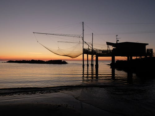 Photos gratuites de aube, bateau, bateau de pêche