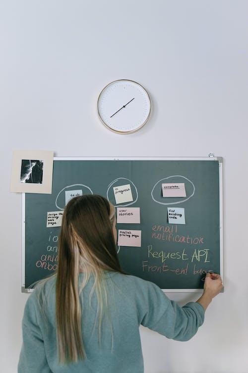 Free stock photo of adult, association, blackboard