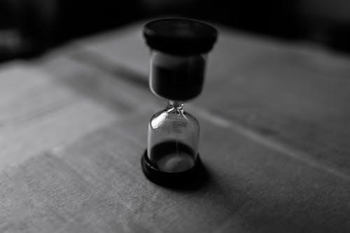 Foto profissional grátis de ampulheta, close, cronômetro