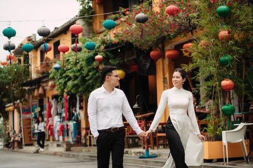 Gratis stockfoto met affectie, Aziatisch, blij