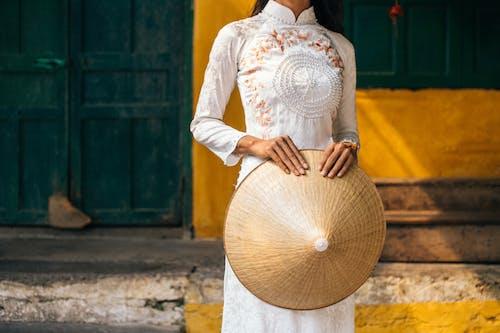Foto stok gratis ala Vietnam, Asia, baju tradisional