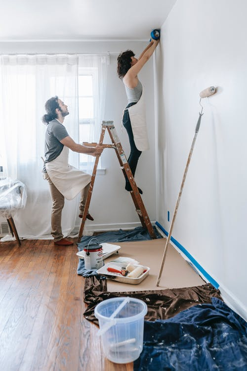 Couple Doing Home Improvements
