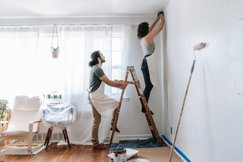 Couple Doing House Renovations