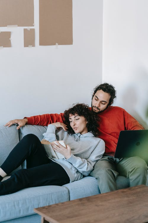 Couple Having A Relaxing Time