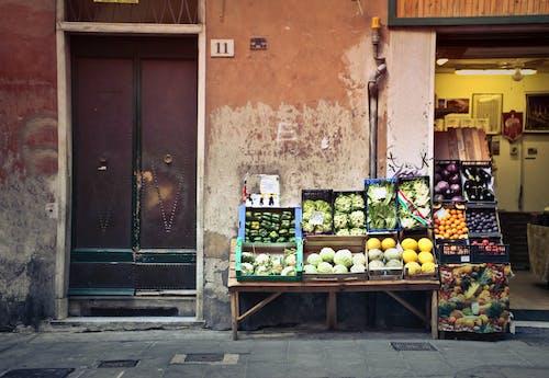 Free stock photo of buy, city, door