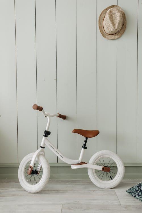 Free stock photo of baby, bed, bike