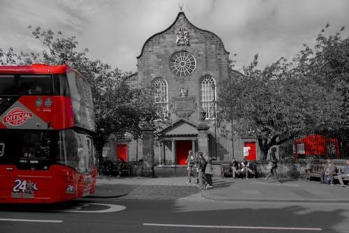 Безкоштовне стокове фото на тему «# три, #edinburgh, #onecolour, #red»