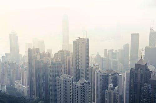 binalar, büyük şehir, Çin, çok katlı binalar içeren Ücretsiz stok fotoğraf