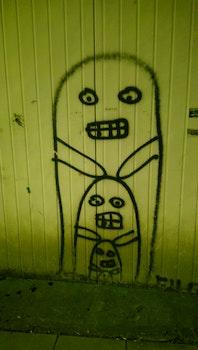 Free stock photo of night, graffiti