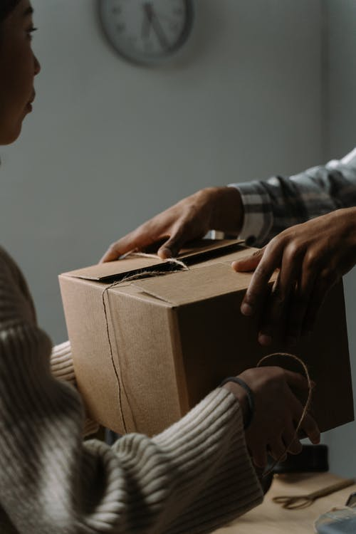 Free stock photo of adult, anonymous, box