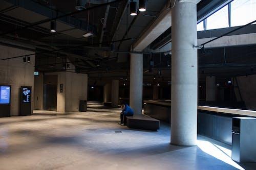 Free stock photo of architecture, building, dark