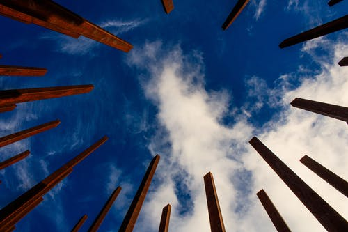 Low Angle Photography of White Clouds and Blue Sky