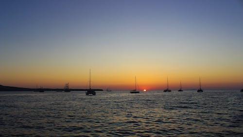 Fotos de stock gratuitas de mar, playa, puesta de sol