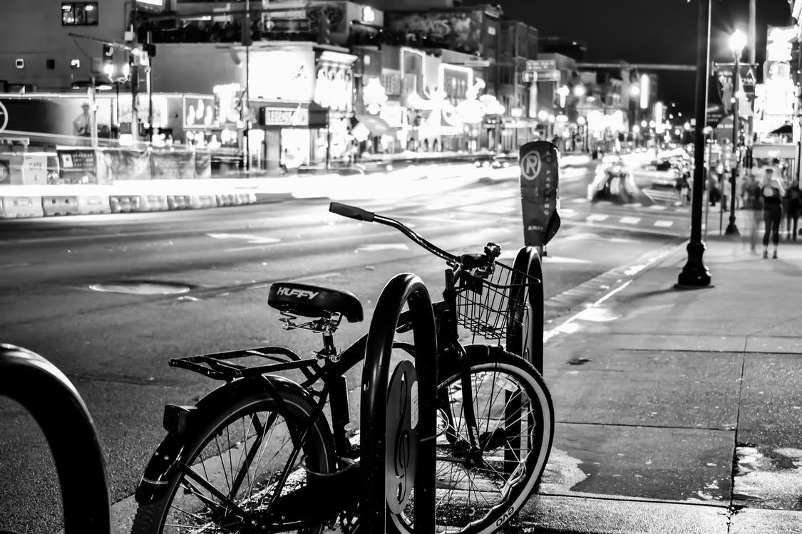 Free stock photo of bicycle, bicycle frame, bicycle parking