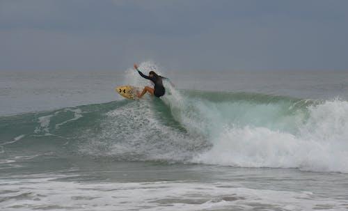 Free stock photo of beach, extreme sports, female