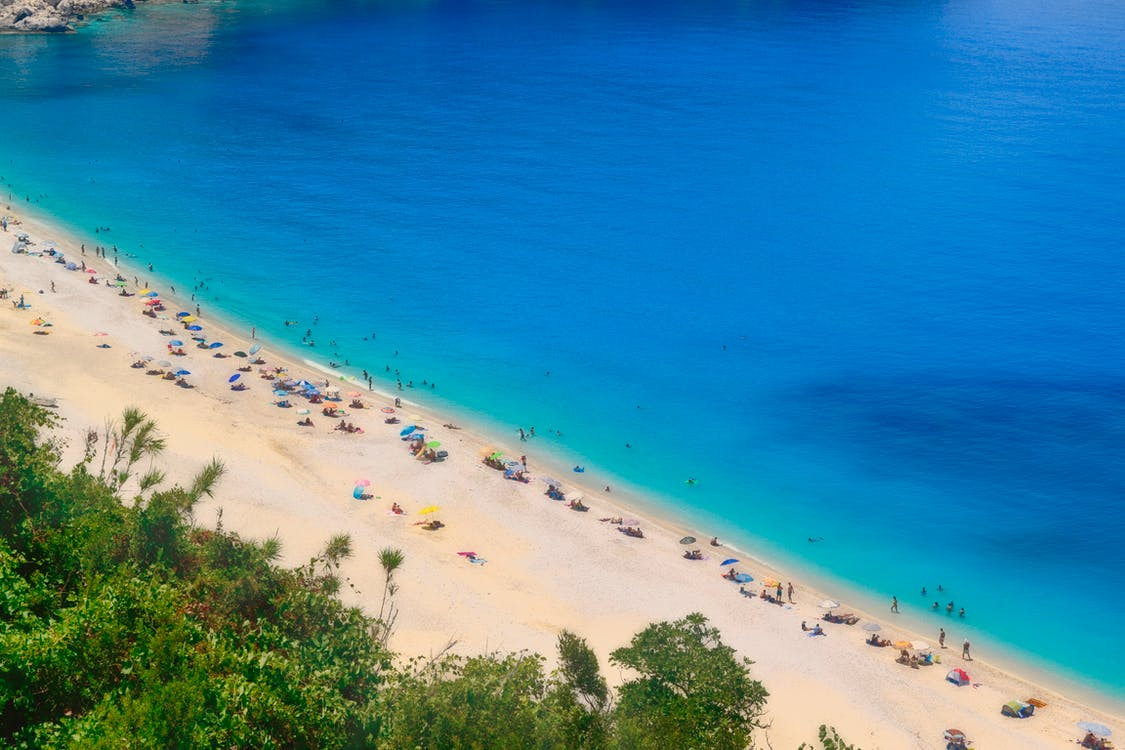 Free stock photo of azure, bay, beach