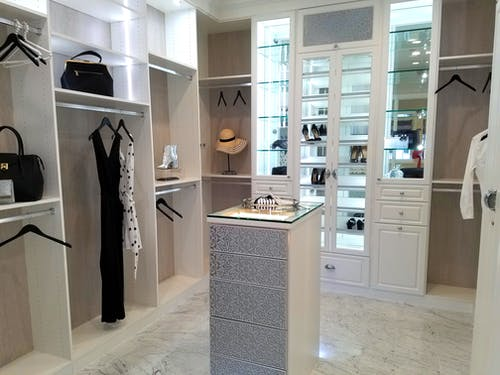 Free stock photo of closet, luxury