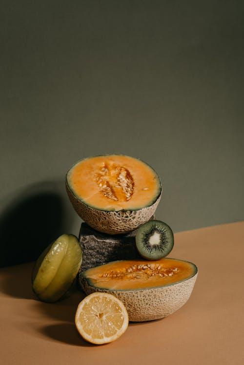 Sliced Watermelon on White Ceramic Bowl