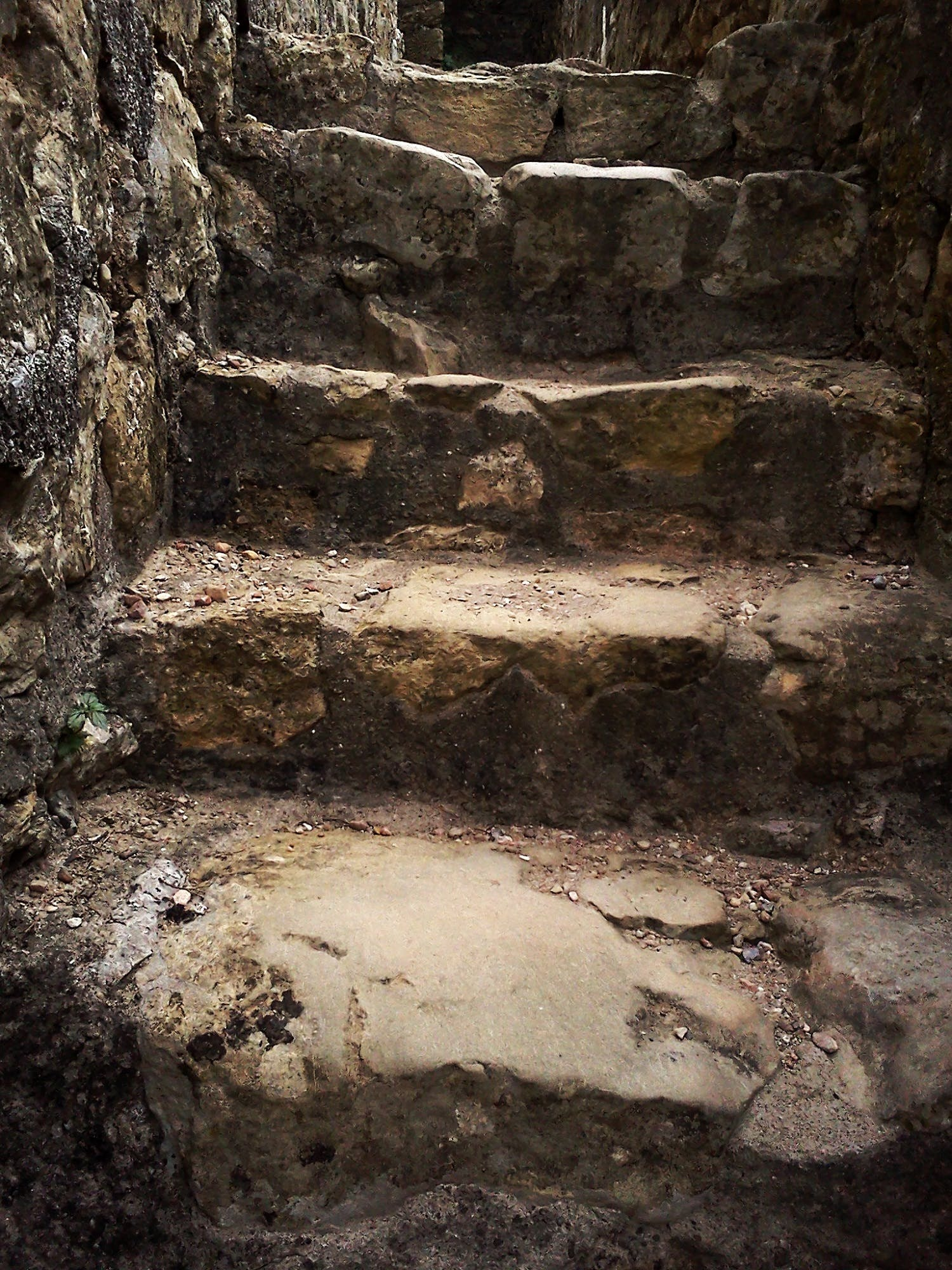 Free stock photo of stairs, rock, primitive, theme staircase