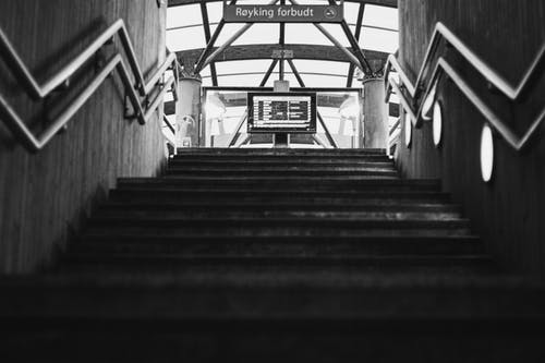 Free stock photo of architecture, railway station, stairs