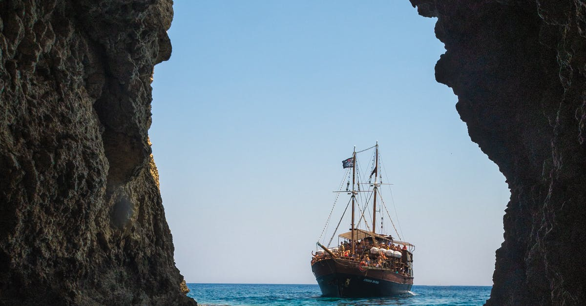 данном картинка корабль море скалы перец также вымойте