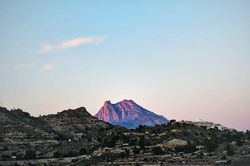 Free stock photo of blue sky, clear sky, mountain