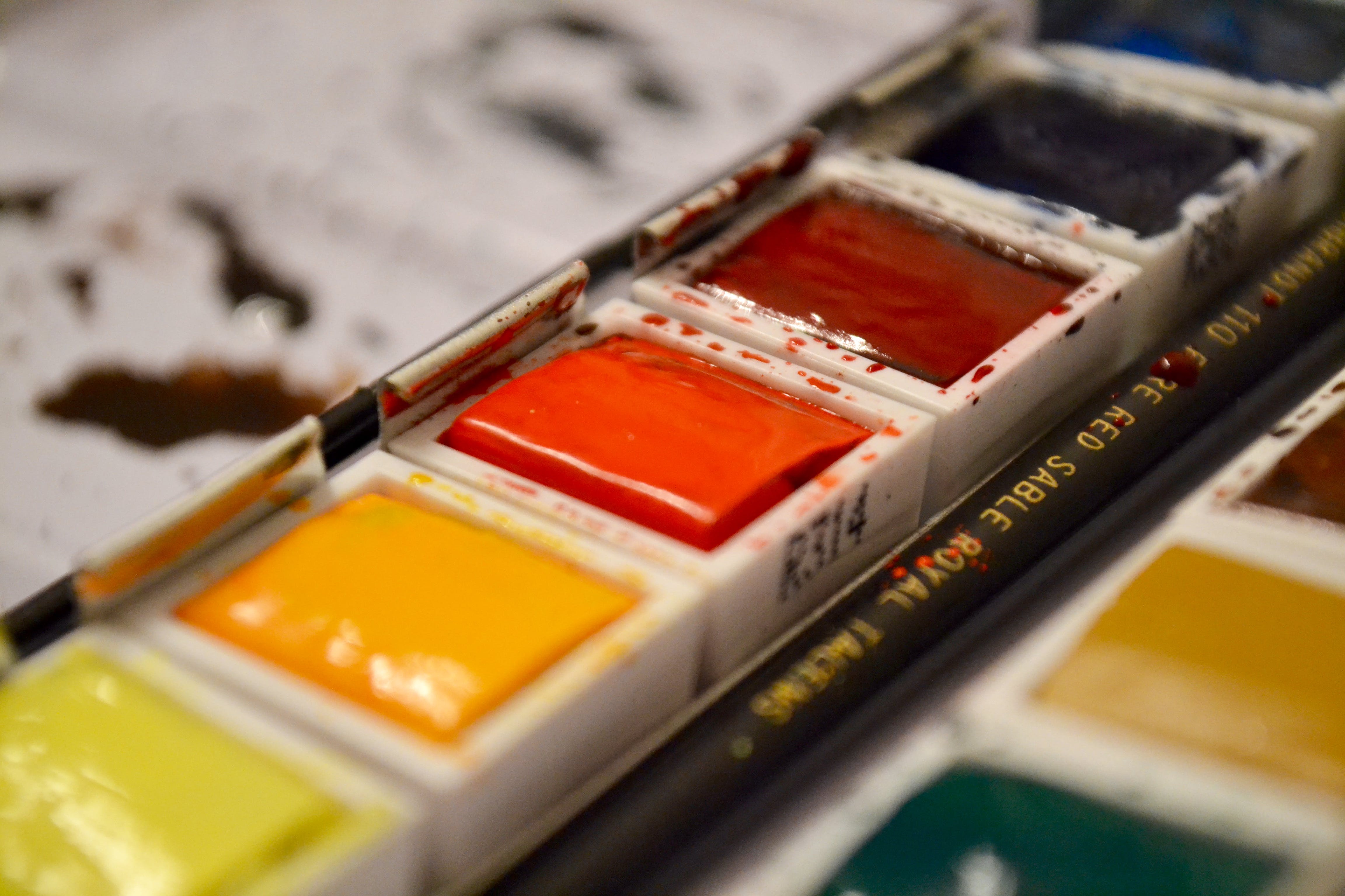 Free stock photo of art, colors, paint, watercolor