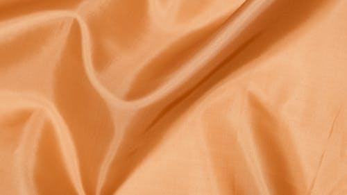 Orange Shiny Fabric