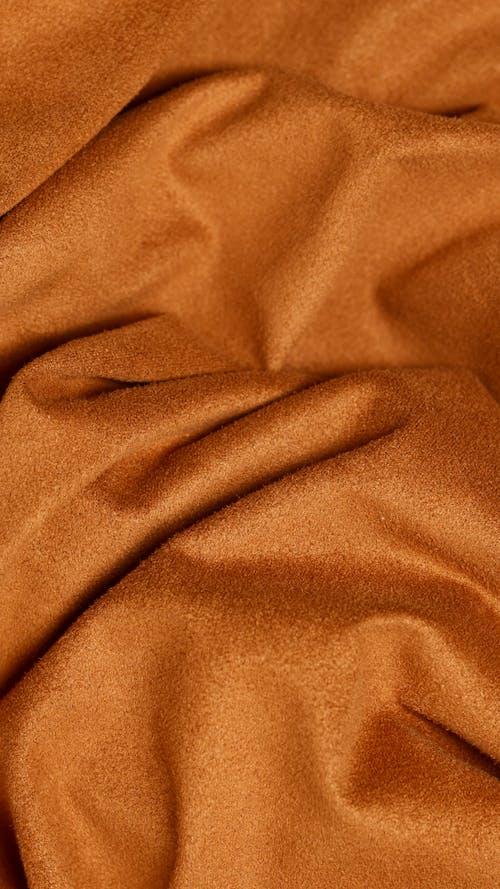 Crumpled Brown Cloth
