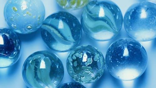 Blue Clear Balls