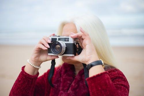 Imagine de stoc gratuită din analog, aparat de fotografiat, aparat foto