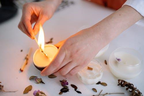 Imagine de stoc gratuită din adult, arderea lumânării, artă