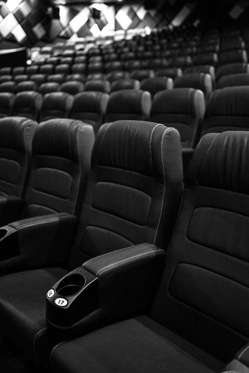 Foto profissional grátis de assentos, bancos, cinema