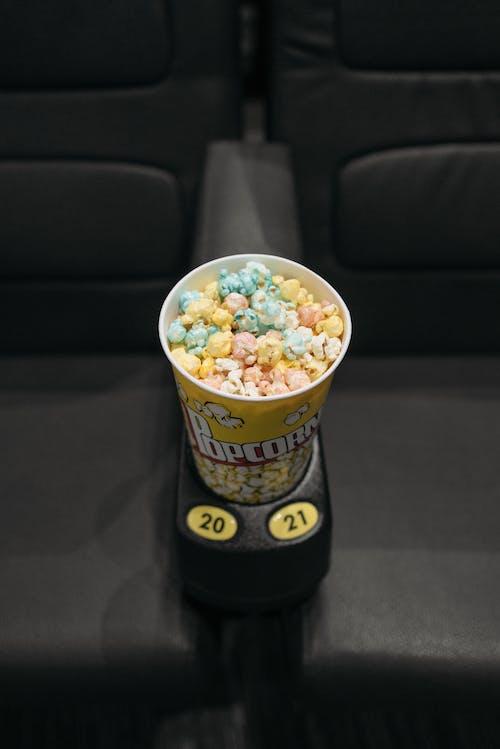 Ice Cream Cone on Black Car Seat