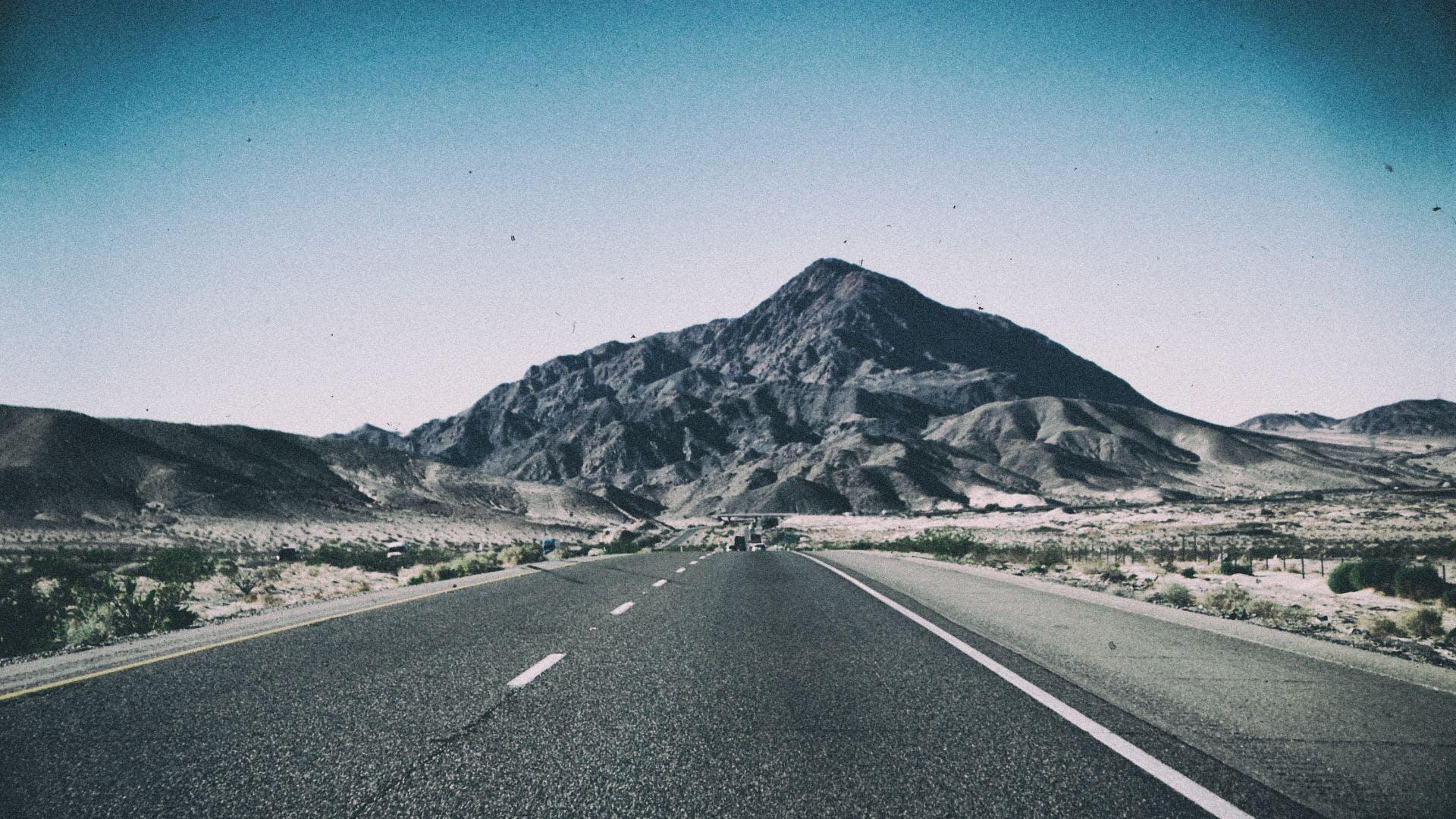 Free stock photo of california, mountain, road, travel