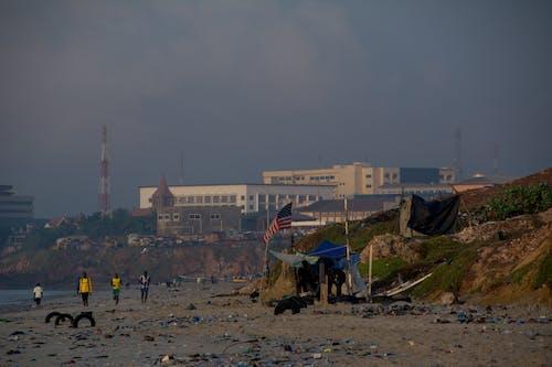 Základová fotografie zdarma na téma africké pláže, Afrika, Americká vlajka, dovolená