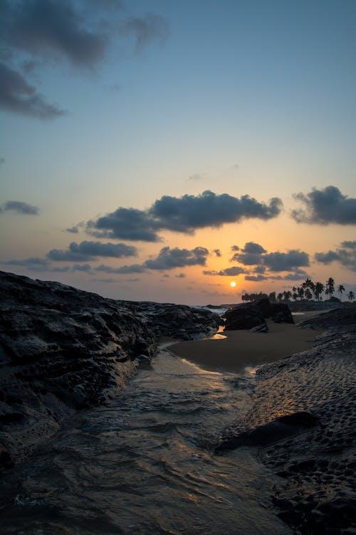 Základová fotografie zdarma na téma Afrika, dovolená, moře, mrak