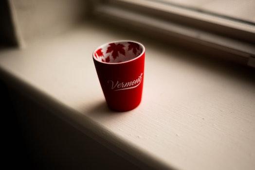 Photo of Ceramic Cup Near Window