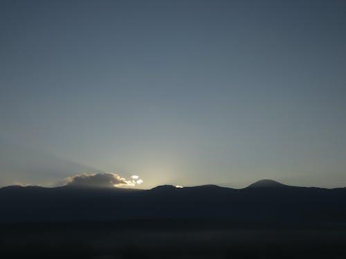 Foto d'estoc gratuïta de alba, capvespre, cel, posta de sol