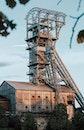 building, industry, metal