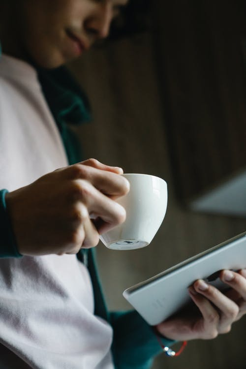 Free stock photo of adult, coffee, connection