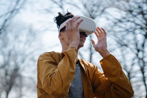 Free stock photo of binoculars, cold, fall